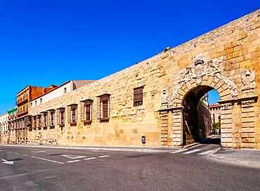 Old Town Walls, Tarragona, Catalonia, Spain