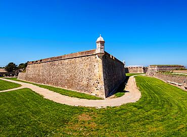 Castell de Sant Ferran, Sant Ferran Castle, a large military fortress, Figueres or Figueras, Catalonia, Spain