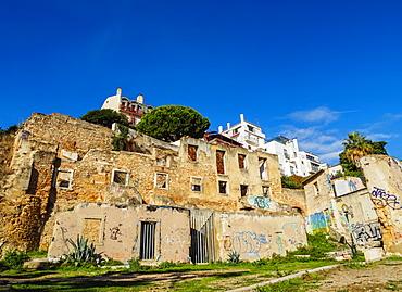 View of the Alfama Neighbourhood, Lisbon, Portugal, Europe