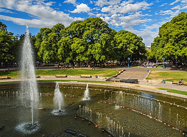 Independence Square, Mendoza, Argentina, South America