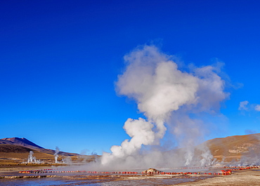 Geysers El Tatio, Antofagasta Region, Chile, South America