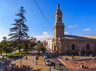 Cathedral of Our Lady of Mercy, Plaza de Armas, La Serena, Coquimbo Region, Chile, South America