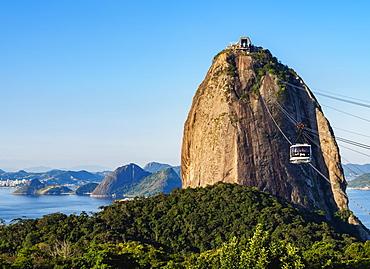 Sugarloaf Mountain Cable Car, Rio de Janeiro, Brazil, South America