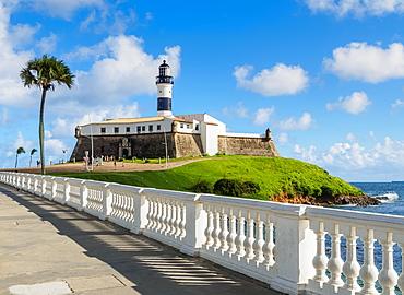 Farol da Barra, lighthouse, Salvador, State of Bahia, Brazil, South America