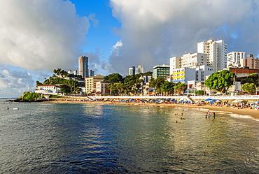 Porto da Barra Beach, Salvador, State of Bahia, Brazil, South America