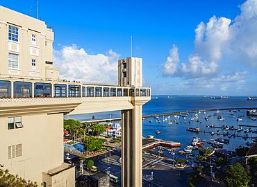 Lacerda Elevator, Salvador, State of Bahia, Brazil, South America