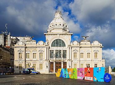 Rio Branco Palace, Salvador, State of Bahia, Brazil, South America