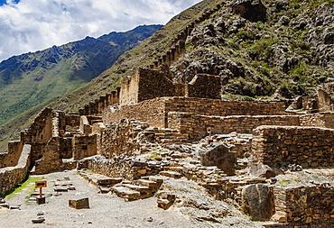 Ollantaytambo Ruins, Sacred Valley, Cusco Region, Peru, South America