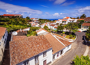 Nordeste, elevated view, Sao Miguel Island, Azores, Portugal, Atlantic, Europe