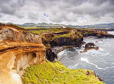 Coast of Ponta das Calhetas, Sao Miguel Island, Azores, Portugal, Atlantic, Europe