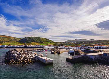 Port in Praia, Graciosa Island, Azores, Portugal, Atlantic, Europe