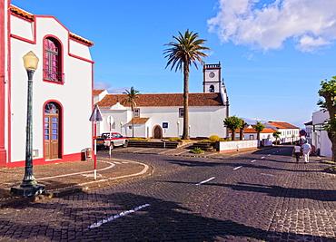 Main Church, Vila do Porto, Santa Maria Island, Azores, Portugal, Atlantic, Europe