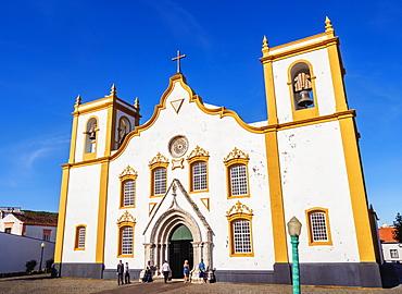 Main Church, Praia da Vitoria, Terceira Island, Azores, Portugal, Atlantic, Europe