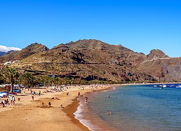 Las Teresitas Beach, San Andres, Tenerife Island, Canary Islands, Spain, Atlantic, Europe
