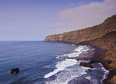 Pato Beach, Puerto de la Cruz, Tenerife Island, Canary Islands, Spain, Atlantic, Europe