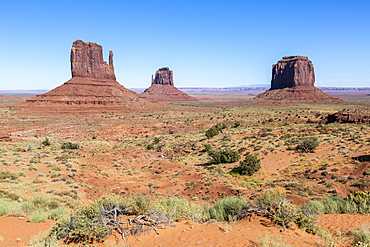 Monument Valley, Navajo Tribal Park, Arizona, United States of America, North America
