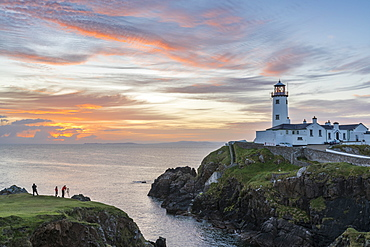 Fanad Head lighthouse, County Donegal, Ulster region, Republic of Ireland, Europe