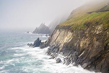 Slea Head, Dingle Peninsula, County Kerry, Munster region, Republic of Ireland, Europe