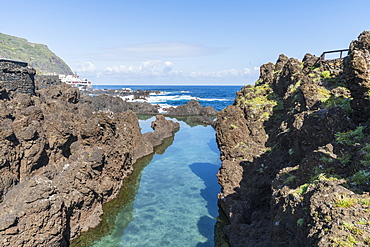 Natural pools of Porto Moniz, Madeira, Portugal, Atlantic, Europe