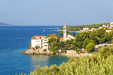 The Dominican Monastery on Glavica peninsula in summer, Bol, Brac island, Split-Dalmatia county, Croatia, Europe