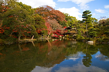 The gardens of Shosei-en, Kyoto, Japan, Asia