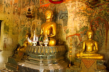 Buddhas of Luang Prabang, Laos, Indochina, Southeast Asia, Asia