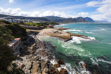 The Old Harbour of Hermanus, Western Cape, South Africa, Africa