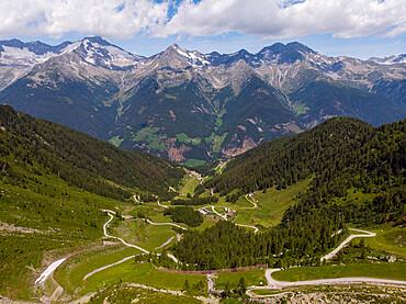 Italy, South Tyrol, Dolomites, Aurina Valley, Lake Chiusetta
