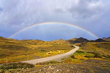Torres del Paine National Park, Ultima Esperanza Province, Magallanes and Chilean Antactica Region, Patagonia, Chile, South America