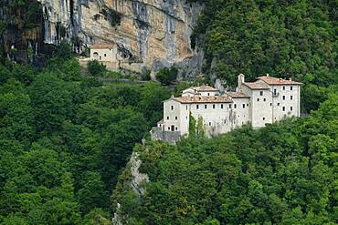 Italy, Umbria, Apennines, Mount Cucco Park, St. Girolamo hermitage
