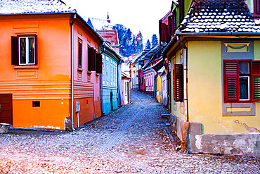 Historic Centre of Sighisoara, UNESCO World Heritage Site, Romania, Europe