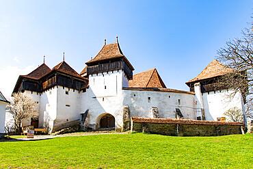 Fortified church and fortress of Viscri, UNESCO World Heritage Site, Transylvania, Romania, Europe