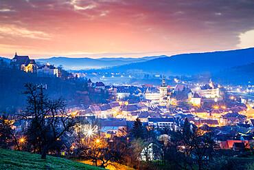 Historic Centre of Sighisoara, UNESCO World Heritage Site, Romania, Europe