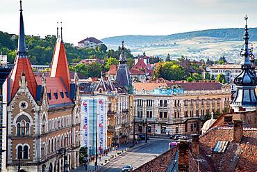 Cluj-Napoca city center, Cluj-Napoca, Transylvania, Romania, Europe