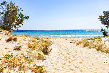 Psili Ammos beach, Serifos Island, Cyclades, Greek Islands, Greece, Europe
