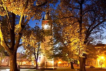 Stephen's Tower in Citadel Square, Baia Mare, Romania, Europe