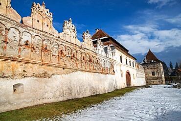 Renaissance castle in Lazarea, Transylvania, Romania, Europe