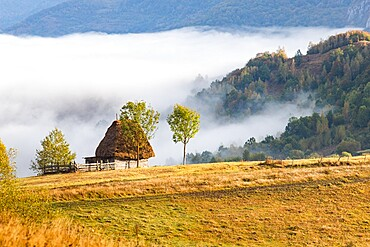 Rural landscape in Apuseni mountains, Romania, Europe