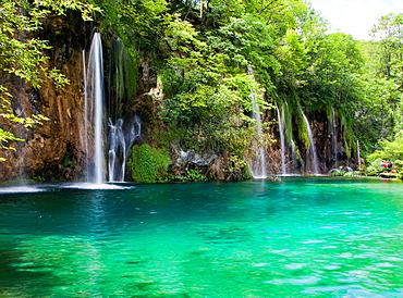 Plitvice Lakes National Park, UNESCO World Heritage Site, central Croatia, Europe