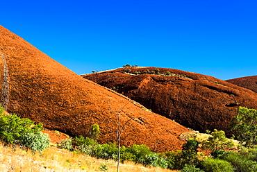 The Olgas (Kata Tjuta), Uluru-Kata Tjuta National Park, UNESCO World Heritage Site, Northern Territory, Australia, Pacific