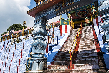 Sri Subramaniya Swamy Hindu Temple, Munnar, Western Ghats Mountains, Kerala, India, Asia