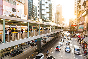 Kowloon street scene, by Fa Yuen Street Market, Kowloon, Hong Kong, China, Asia