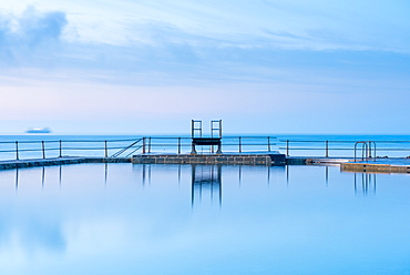 The Bathing Pools at La Vallette, St. Peters Port, Guernsey, Channel Islands, United Kingdom, Europe