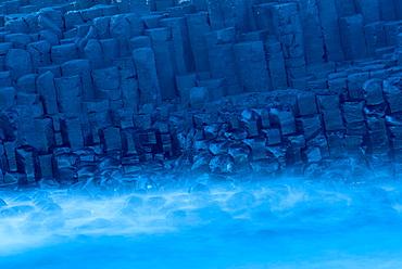 Basalt Columns at Giant's Causeway, UNESCO World Heritage Site, County Antrim, Ulster, Northern Ireland, United Kingdom, Europe