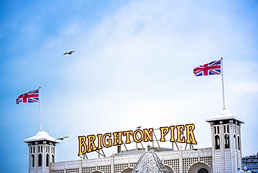 Brighton Palace Pier, Brighton and Hove, East Sussex, England, United Kingdom, Europe