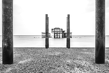 Brighton Pier, Brighton and Hove, East Sussex, England, United Kingdom, Europe