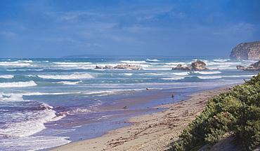 Coastal landscape at the Seal Bay Conservation Park on the Kangaroo Island, Australia, Pacific