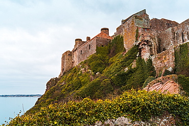 Mont Orgueil Castle, Jersey, Channel Islands, United Kingdom, Europe