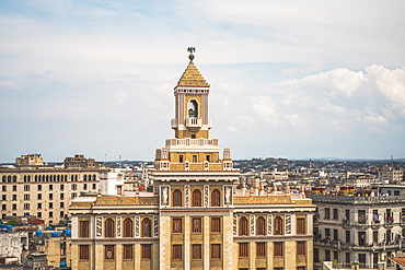 Bacardi building, La Habana (Havana), Cuba, West Indies, Caribbean, Central America