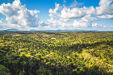 View from highest bridge in Cuba, Varadero, Hicacos Peninsula, Matanzas Province, Cuba, West Indies, Central America